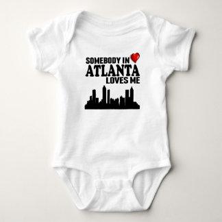 Somebody In Atlanta Loves Me Baby Bodysuit