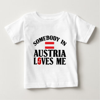 Somebody In Austria Baby T-Shirt