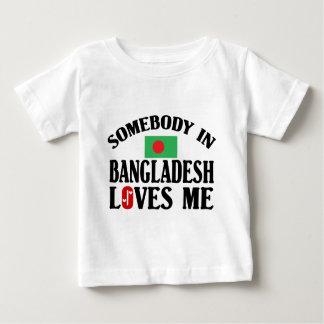 Somebody In Bangladesh Baby T-Shirt