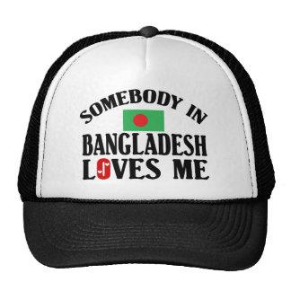 Somebody In Bangladesh Trucker Hat