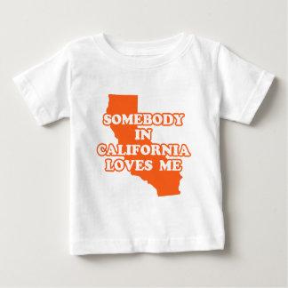 Somebody In California Loves Me Infant T-shirt