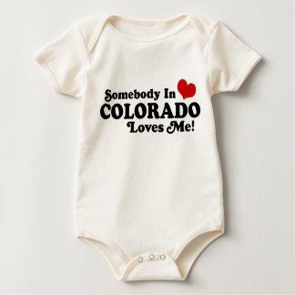 Somebody In Colorado Loves Me Romper