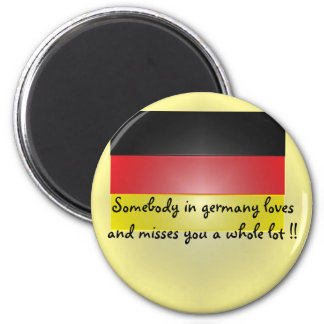 Somebody in germany loves and miss... fridge magnets