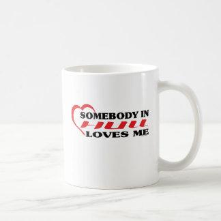 Somebody In Hull Loves me Coffee Mug