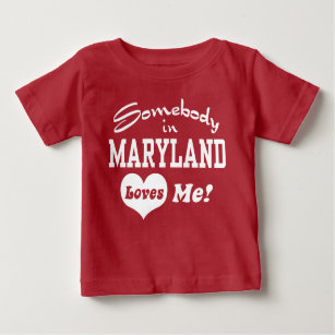 Someone In Maryland Baby Clothes Apparel Zazzle