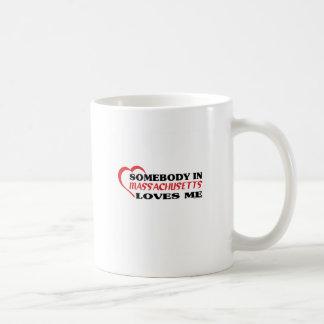 Somebody in Massachusetts Loves Me shirts Mugs