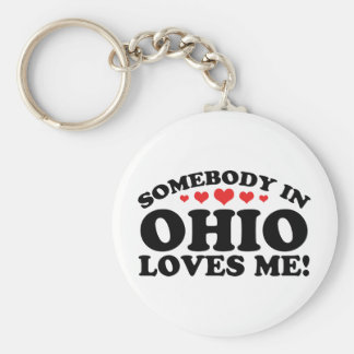 Somebody In Ohio Loves Me Key Chains