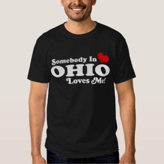 Somebody in Ohio Loves Me Shirt