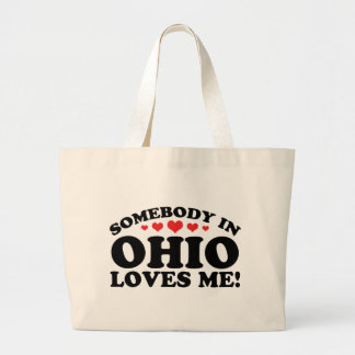 Somebody In Ohio Loves Me Tote Bags