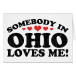 Somebody In Ohio Vintage Card