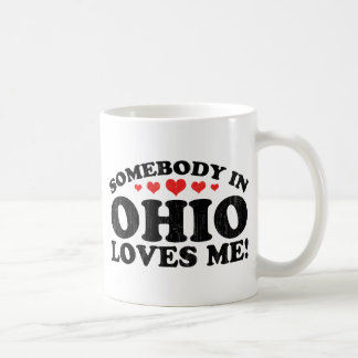 Somebody In Ohio Vintage Coffee Mug