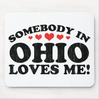 Somebody In Ohio Vintage Mousepad
