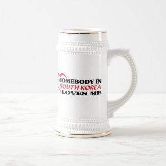 Somebody in South Korea Loves Me Coffee Mug