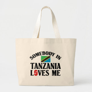 Somebody In Tanzania Canvas Bag