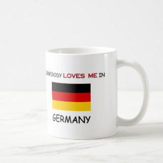 Somebody Loves Me In GERMANY Mug