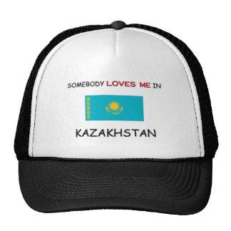 Somebody Loves Me In KAZAKHSTAN Trucker Hat