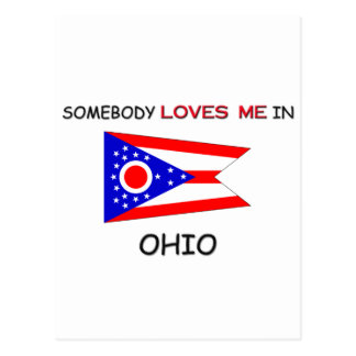 Somebody Loves Me In OHIO Postcard