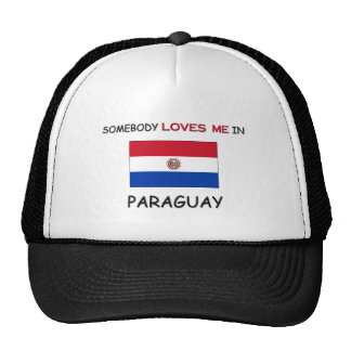 Somebody Loves Me In PARAGUAY Mesh Hats