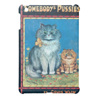 Somebody's Pussies Book Cover by Louis Wain Case For The iPad Mini