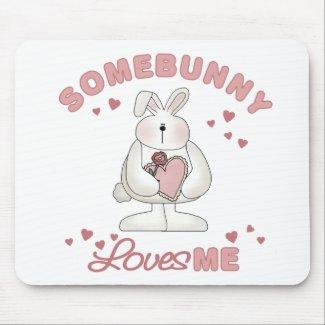 Somebunny Loves Me Mousepad