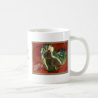 Somebunny Loves You! Bunny Photograph Coffee Mug