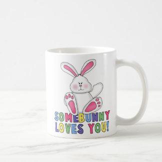 SomeBunny  Loves You Coffee Mug