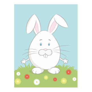 Somebunny loves you! Easter Postcard