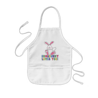 SomeBunny Loves You Kids' Apron