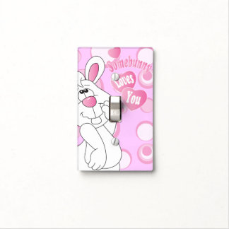 Somebunny Loves You Nursery Theme Light Cover Switch Plate Cover