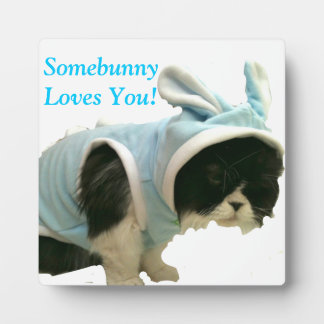 Somebunny Loves You - Plaque