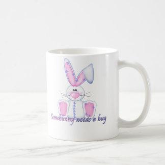 Somebunny needs a hug coffee mug