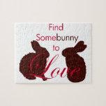 Somebunny para amar día de San Valentín Puzzles