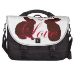 Somebunny to Love Valentines Day Laptop Bags