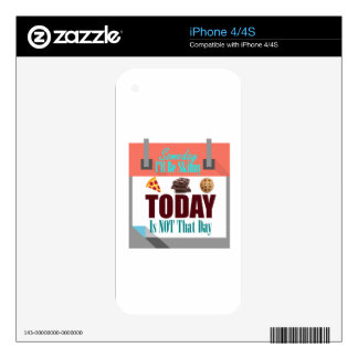 Someday I'll Be Skinny iPhone 4 Skin