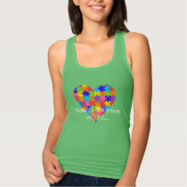 Someday the pieces will fit. Autism awareness tee. Tank Top