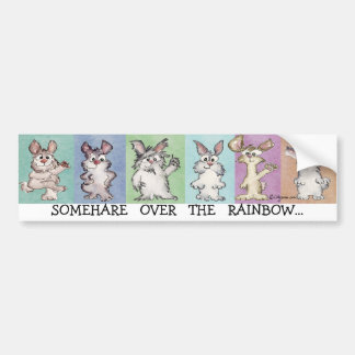 Somehare Over the Rainbow Bumper Sticker