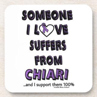 Someone I Love...Chiari Drink Coaster