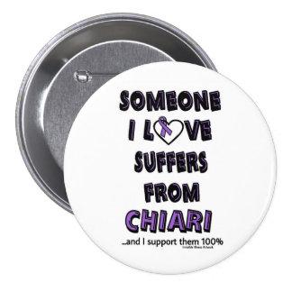Someone I Love...Chiari Pinback Button
