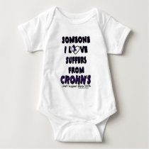 Someone I Love...Crohn's Baby Bodysuit