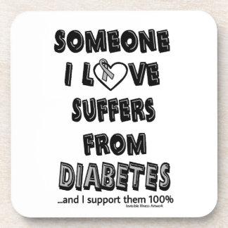 Someone I Love...Diabetes Coaster