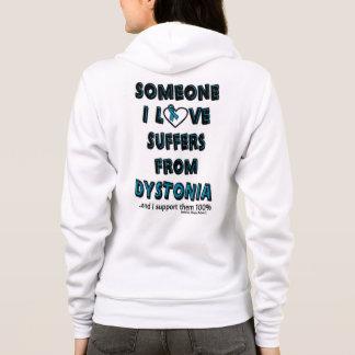 Someone I Love...Dystonia Hoodie