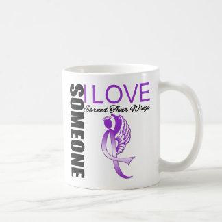 Someone I Love Earned Wings Domestic Violence Classic White Coffee Mug