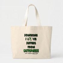 Someone I Love...Gastroparesis Large Tote Bag