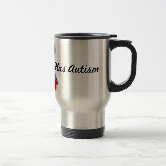 Someone I Love Has Autism 15 Oz Stainless Steel Travel Mug