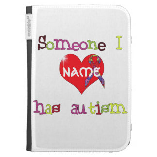 Someone I Love has Autism Kindle Cover
