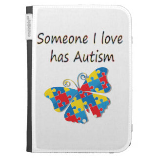 Someone I love has autism (multi) Kindle 3G Covers