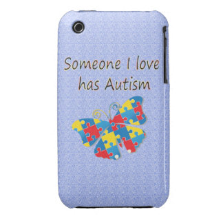 Someone I love has autism (multi) iPhone 3 Covers