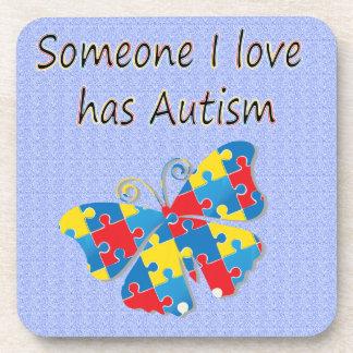 Someone I love has autism (multi) Coaster