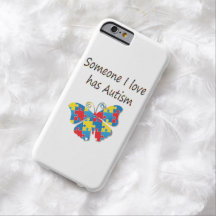 Someone I love has autism (multi) iPhone 6 Case