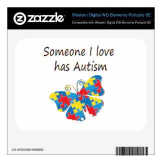 Someone I love has autism (multi) WD Elements SE Skin